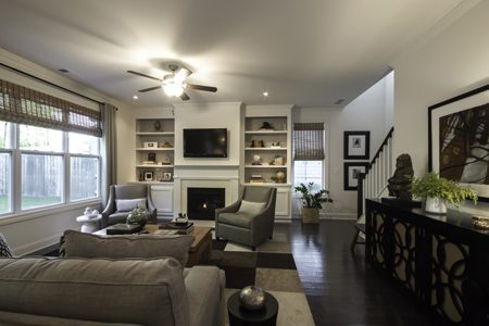 Westside life style for craftsman style townhomes homes for Craftsman home builders atlanta