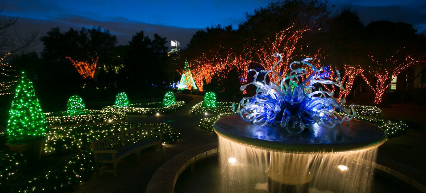 Garden Lights & Holiday Nights close to West Midtown Homes