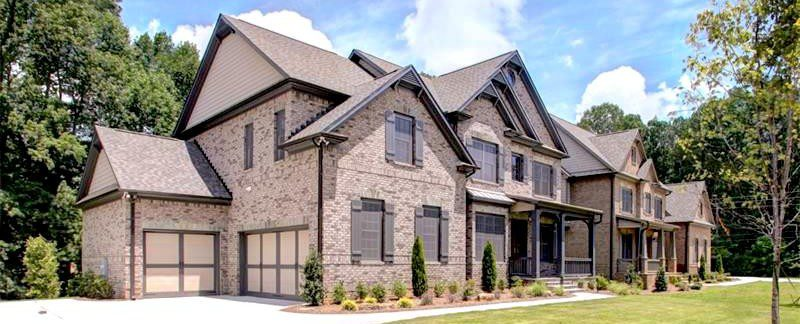 New East Cobb homes - Rocky Mountain in Marietta by Brock Built