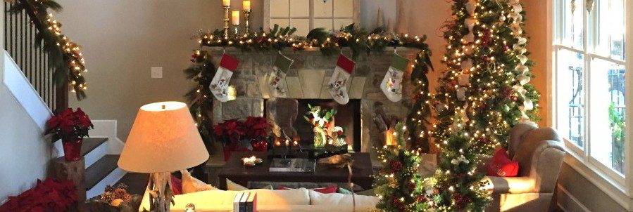 Holiday decoration ideas for new atlanta area homes for New home christmas decoration