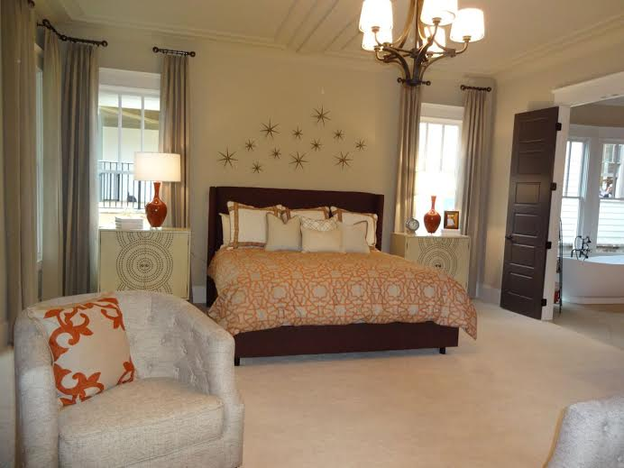 Decorated Model Homes: New Decorated Model Home In Norcross
