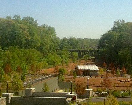 Great dog park in Piedmont Park - Midtown Atlanta