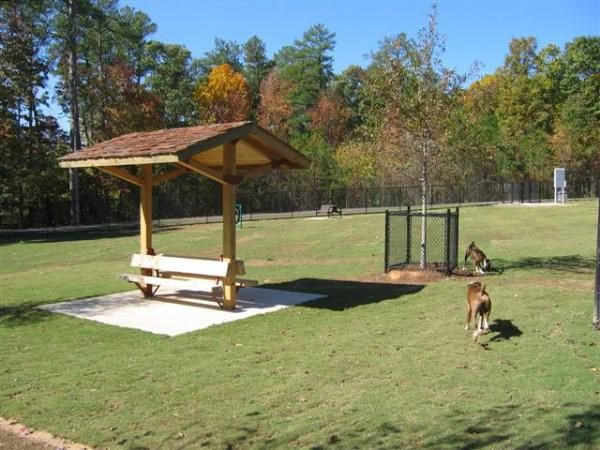 Dog park at Graves park in Norcross GA