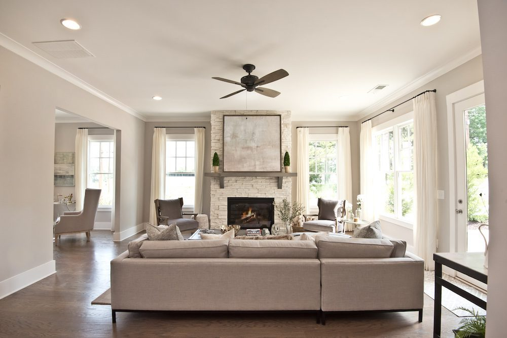 New Intown Atlanta Community - West Town model home interior