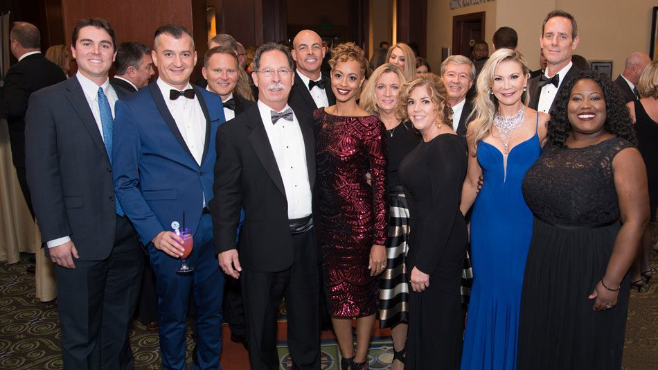 Brock Built team at the 2017 OBIE Awards