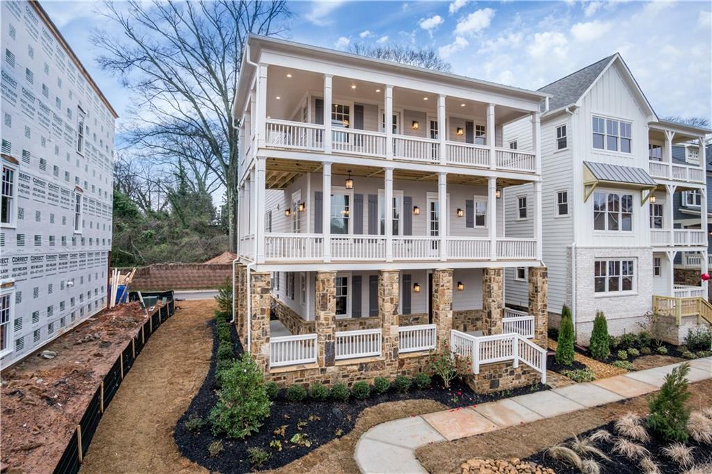 Three story home available at Manget in Marietta