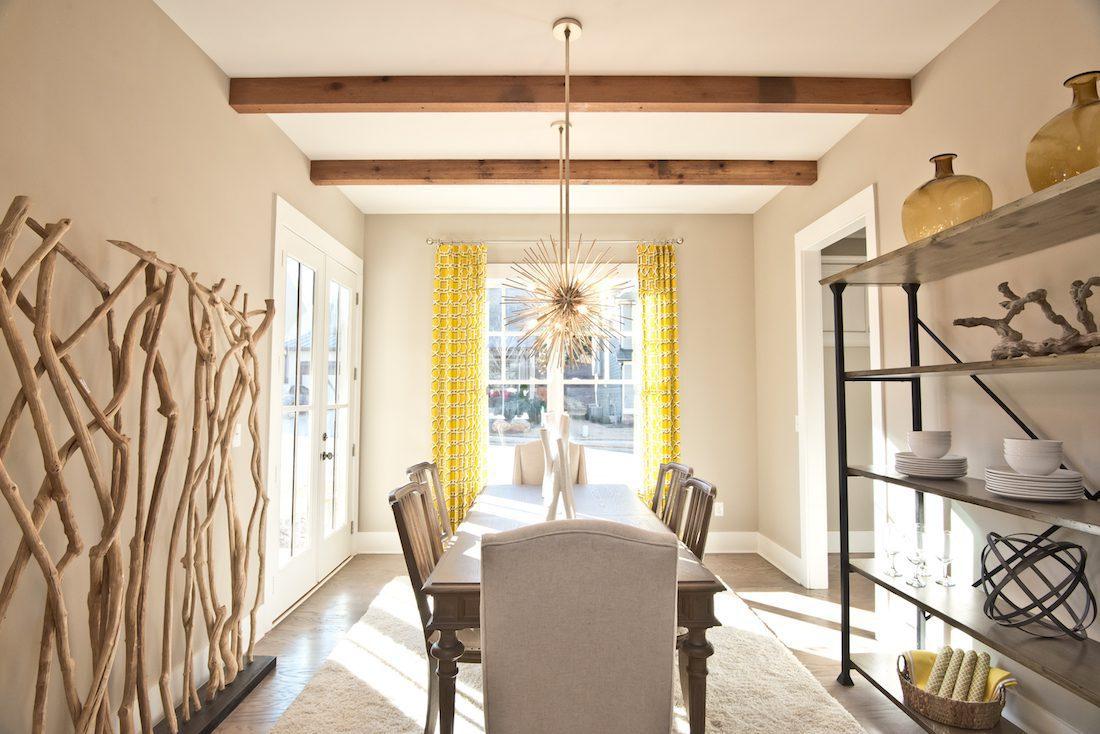 Oakhurst in Woodstock model home - the Kate B dining room