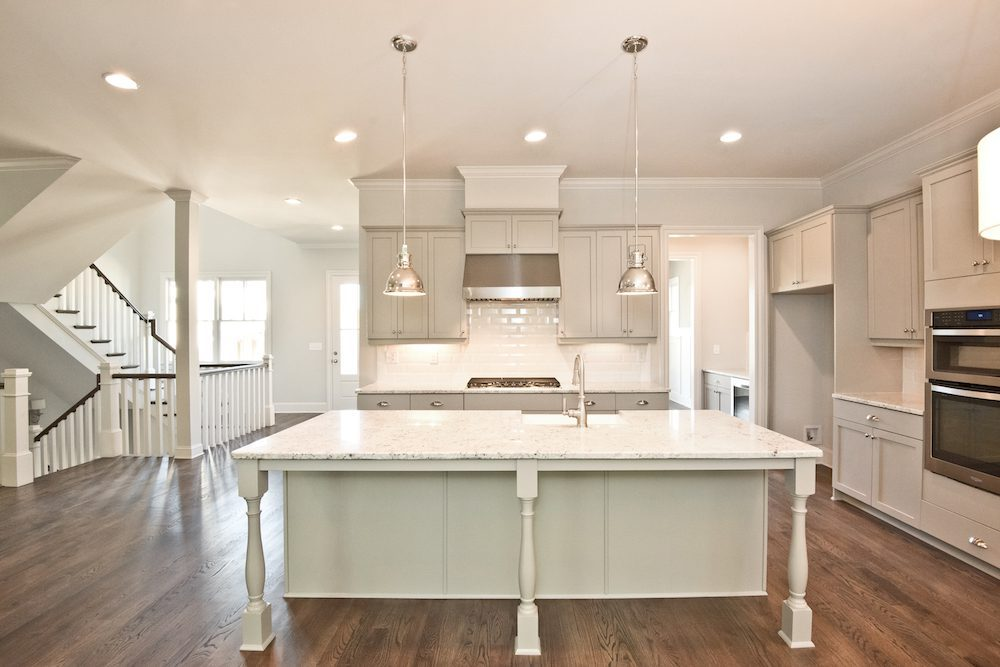 Beautiful kitchen of the Oakland IV model at Manget