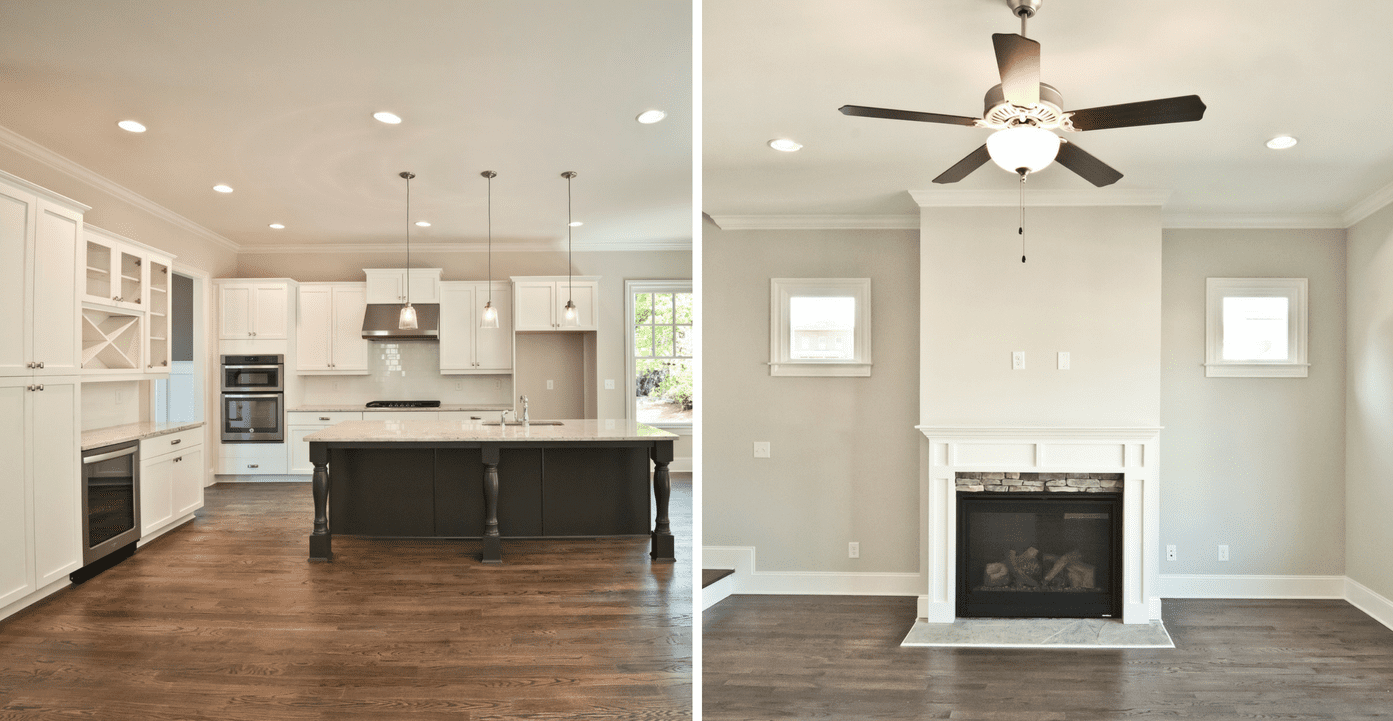 Stunning interior finishes of new homes at Mangêt in Marietta