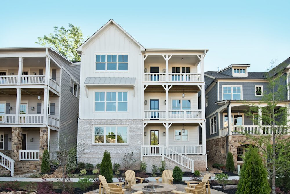 Quick move-in homes at Manget in Marietta