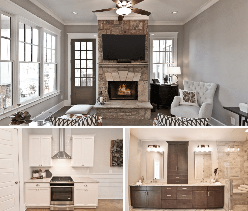 Each Brock Built home has a unique blend of finishes to make it one of a kind.