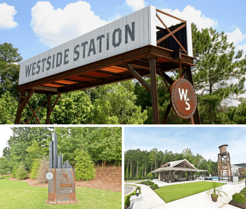 Westside station offers new westside homes at the intersection of life + style.