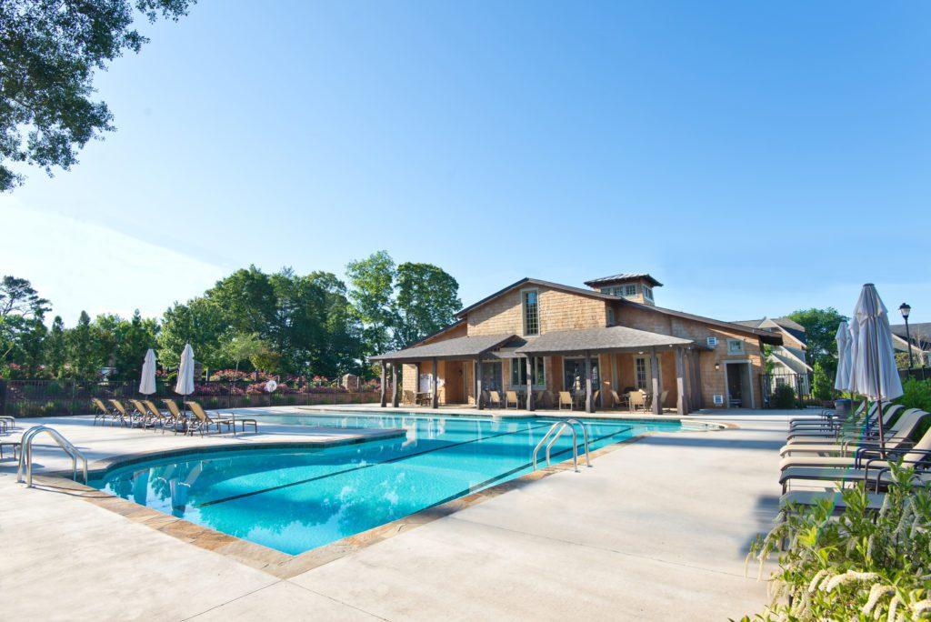 Tour of amenities in Brock Built communities includes Oakhurst resort quality pool and clubhouse