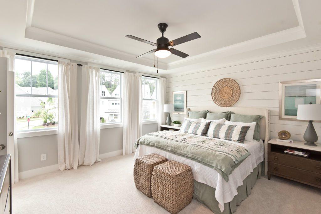 Discover the design details that go into Brock Built master bedroom suite
