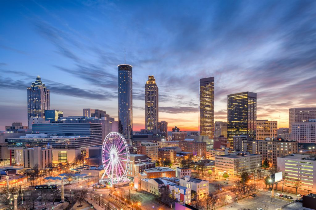 An Atlanta skyline (Copyright Sean Pavone 123rf)